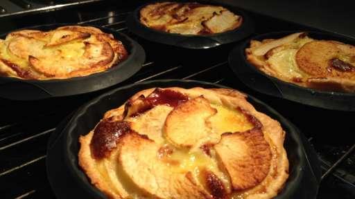 Tartelettes pommes chocolat à la cannelle
