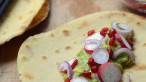 Tacos au guacamole
