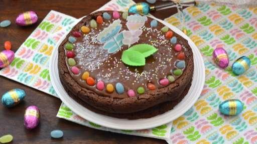Le gâteau mousse au chocolat de Mamie Simone