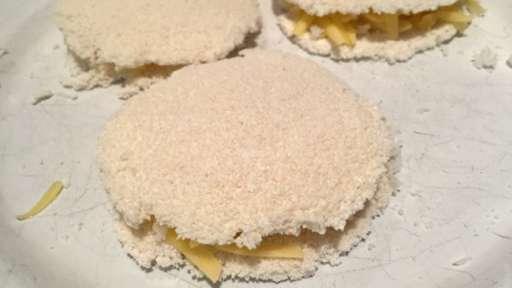 Mini sandwiches de tapioca