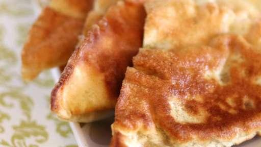 Raviolis chinois frits poulet et crevettes