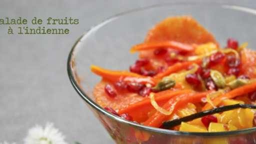 Salade de fruits à l'indienne