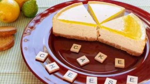 Cheesecake citron palets bretons