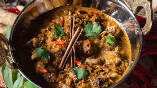 Curry moghol au mouton