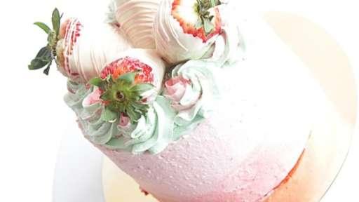 Strawberry Swirls et pâte de pistaches