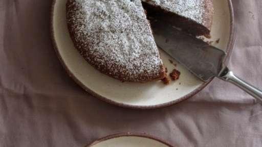 Gâteau au chocolat et aux amandes