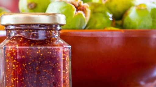 confiture de figues gingembre