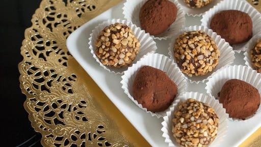 Faire des chocolats pour noël