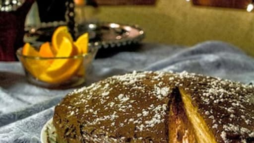 Gâteau de crêpes millefeuille au tiramisu
