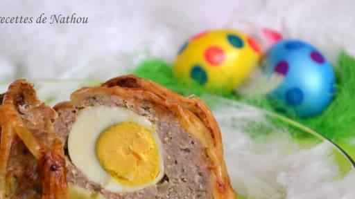 Pain de viande surprise pour Pâques