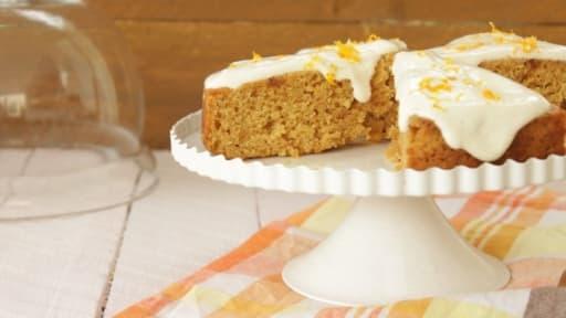 Gâteau fondant orange à l'amande