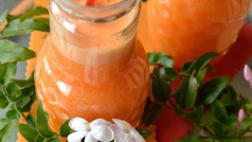Jus De Pamplemousse Rose Orange Carotte Et Gingembre Recette Par