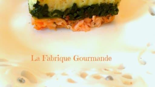 Parmentier Saumon Epinard Recette Par La Fabrique Gourmande