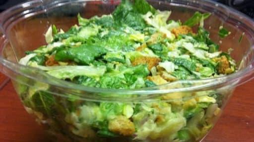 Salade Verte Au Poulet Cornichons Oeufs Durs Recette Par