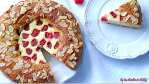 Amandier cheesecake fraise