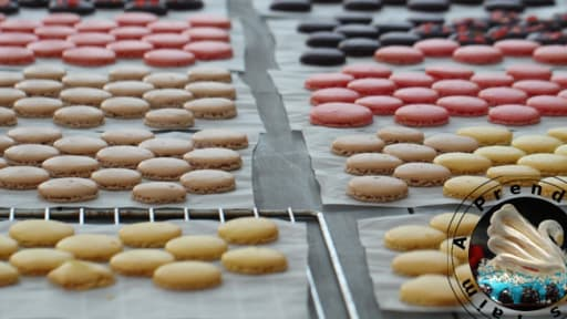 Coques De Macarons A La Meringue Francaise Recette Par A Prendre
