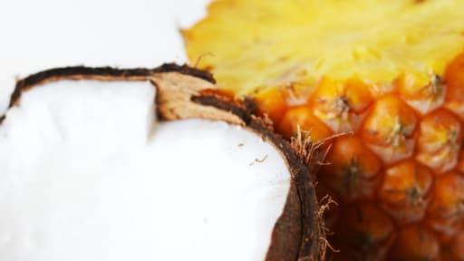 Boisson post Workout : Eau de coco, Earl Grey et Ananas