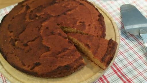 Gâteau-biscuit à la farine de coco et aux zestes de citron