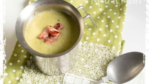 Soupe Au Chou Vert Recette Par Popote Et Nature