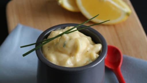 Mayonnaise crémeuse au Citron