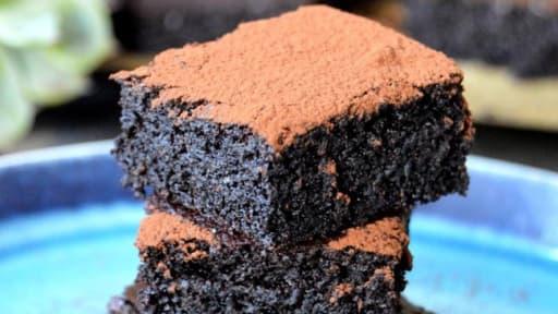 Gâteau moelleux au chocolat healthy