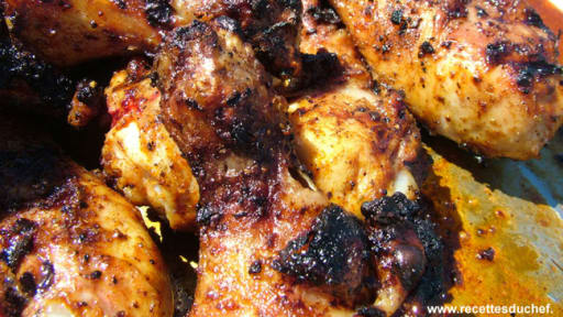 Cuisses De Poulet Au Barbecue Marinade Au Sirop D Erable Recette