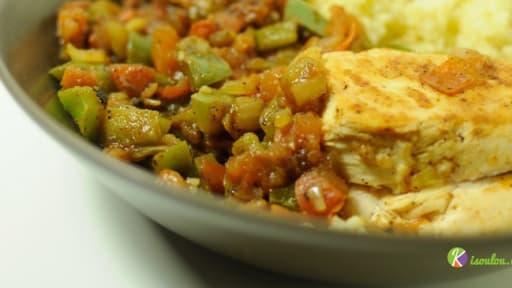 Couscous De Poulet Aux Legumes Recette Par Chef Rolly Chez Kisoulou