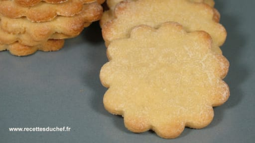 Sablés à la pâte de sésame blanc ou tahiné