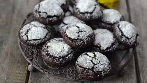 Cookies au chocolat et à l'huile d'olive