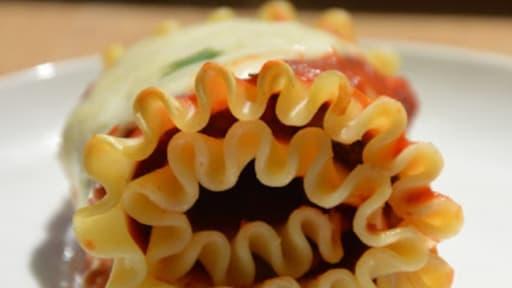 Lasagne roulée à la puttanesca
