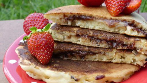 Pancakes Fourres Au Nutella Recette Par La Prune Patissiere