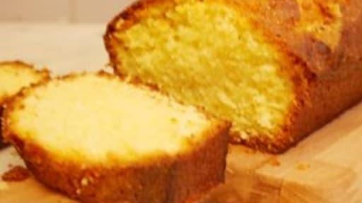 Quatre quart sans gluten à la vanille