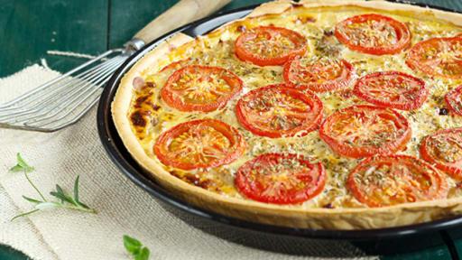Tarte Au Thon Aux Tomates Et A La Moutarde Recette Par Une French