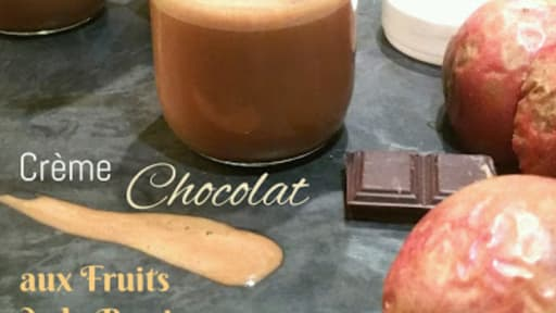 Crème chocolat aux fruits de la passion