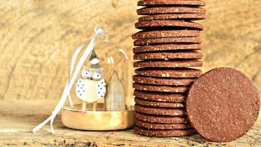 Sablés chocolat / noisettes / tonka