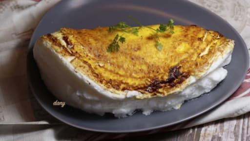 l omelette de la m re poulard du mont saint mchel recette par pic tout. Black Bedroom Furniture Sets. Home Design Ideas