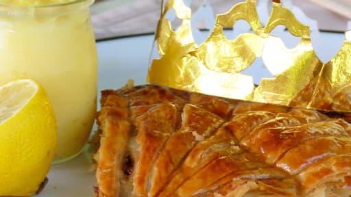 Galette des rois très citron