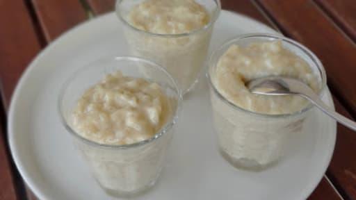 Riz Au Lait De Coco Avec Une Touche De Vanille Recette Par Davy