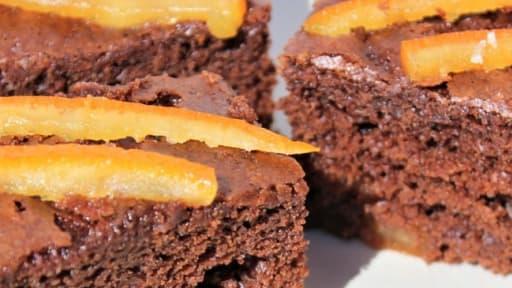 Gateau Au Yaourt Ultra Moelleux Chocolat Et Oranges Confites