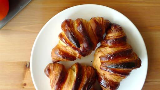 Croissants croustillants
