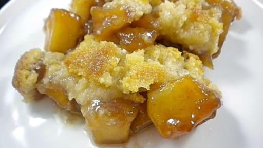 Incroyable Recette Caramel Beurre Salé Cyril Lignac crumble aux pommes et caramel au beurre salé de cyril lignac