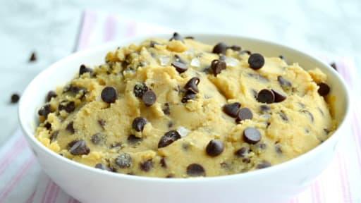 Cookie dough vegan aux pépites de chocolat