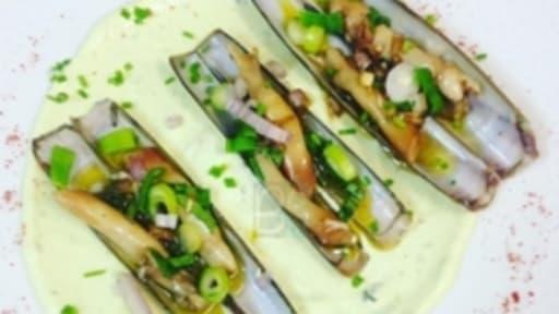 Les Couteaux Marinés Au Basilic Recette Par La Cuisine De Ben - Cuisiner couteaux