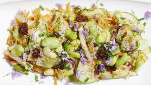 Salade alcaline anti-fatigue