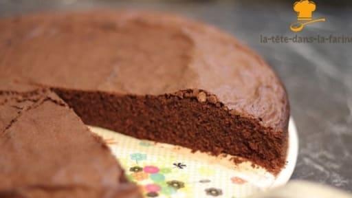 Gâteau au chocolat en poudre sans lait