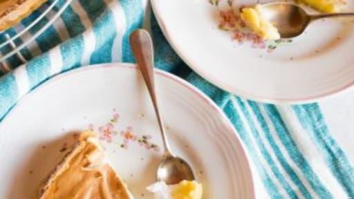 Tarte au citron coco
