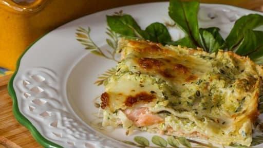 Lasagnes Aux Courgettes Et Saumon Fume Recette Par Jackie