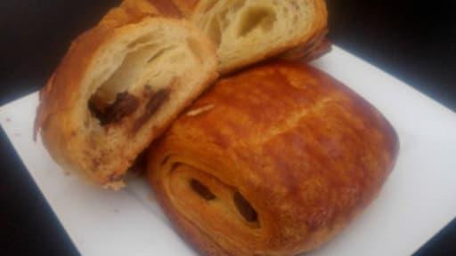 Pâte à croissant - chocolatine