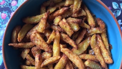 Frites sablées