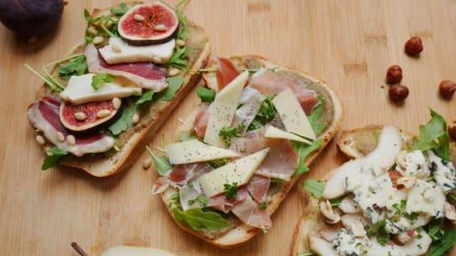 Tartines salées : 3 idées pour le déjeuner